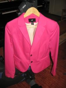 Pinkki jakku